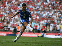 Photo: Rich Eaton.<br /> <br /> Manchester United v Chelsea. FA Community Shield. 05/08/2007. Chelsea's Frank Lampard misses his penalty