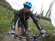 SHOT 8/5/17 1:50:15 PM - GoPro Hero 5 photos while riding Brian Head Resort in Brian Head, Utah with Vesta Lingvyte of Denver, Co. (Photo by Marc Piscotty / © 2017)