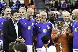 July 10, 2017 - Toulouse, France - Laurent Blanc / Didier Deschamps / Zinedine Zidane / fabien Barthez et la 1ere Dame du Mali Aminata MAIGA (Credit Image: © Panoramic via ZUMA Press)