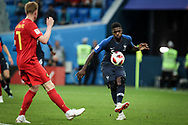Samuel Umtiti of France during the 2018 FIFA World Cup Russia, Semi Final football match between France and Belgium on July 10, 2018 at Saint Petersburg Stadium in Saint Petersburg, Russia - Photo Thiago Bernardes / FramePhoto / ProSportsImages / DPPI