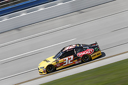 April 27, 2018 - Talladega, Alabama, United States of America - Matt DiBenedetto (32) takes to the track to practice for the GEICO 500 at Talladega Superspeedway in Talladega, Alabama. (Credit Image: © Justin R. Noe Asp Inc/ASP via ZUMA Wire)