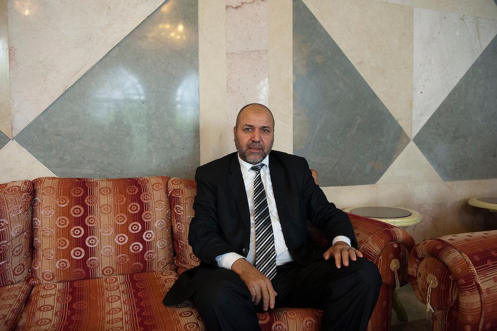 Walid Bennani, Vice president of Parlementarian groupe Ennahda..Walid Bennani, Vice président du Groupe Parlementaire d'Ennahda