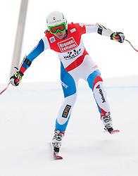 08.01.2012, Weltcupabfahrt Kaernten – Franz Klammer, Bad Kleinkirchheim, AUT, FIS Weltcup Ski Alpin, Damen, Super G, im Bild Fabienne Suter (SUI, Rang 1) // first place Fabienne Suter of Switzerland during ladies Super G at FIS Ski Alpine World Cup at 'Kaernten – Franz Klammer' course in Bad Kleinkirchheim, Austria on 2012/01/08. EXPA Pictures © 2012, PhotoCredit: EXPA/ Johann Groder