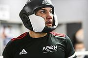 Boxen: ECB, Sparring, Hamburg, 10.110.2020<br /> Sebastian Formella (GER, EC Boxing) - Jack Culcay (GER, Team Agon)<br /> © Torsten Helmke