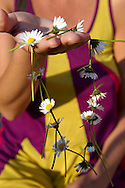 Daisy chain being made