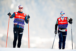 January 5, 2018 - Val Di Fiemme, ITALY - 180105 Heidi Weng of Norway during a training session in Tour de Ski on January 5, 2018 in Val di Fiemme..Photo: Jon Olav Nesvold / BILDBYRN / kod JE / 160121 (Credit Image: © Jon Olav Nesvold/Bildbyran via ZUMA Wire)