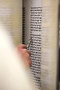 Reading the Torah scrolls
