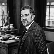 NLD/Den Haag/20180328 - VVD fractievoorzitter Klaas Dijkhoff in zijn kantoor