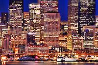 Waterfront, Downtown Seattle (Night)