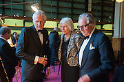 PHILIP HOOK; LADY NORWICH; LORD HINDLIP, The London Library Annual  Life in Literature Award 2013 sponsored by Heywood Hill. The London Library Annual Literary dinner. London Library. St. james's Sq. London. 16 May 2013.