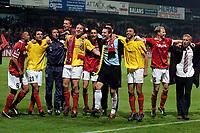 Fotball<br /> Nederland<br /> Foto: ProShots/Digitalsport<br /> NORWAY ONLY<br /> <br /> UEFA cup<br /> AZ - Villarreal<br /> 14-04-2005<br /> <br /> az viert dat het door is naar de halve finale