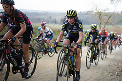 at Strade Bianche - Elite Women. A 127 km road race on March 4th 2017, starting and finishing in Siena, Italy. (Photo by Sean Robinson/Velofocus)