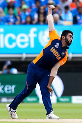 Jasprit Bumrah of India - Mandatory by-line: Robbie Stephenson/JMP - 30/06/2019 - CRICKET - Edgbaston - Birmingham, England - England v India - ICC Cricket World Cup 2019 - Group Stage