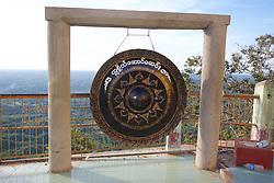 Gong, Mount Popa & Popa Taungkalat Monastery