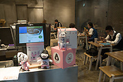 Chinese yuppy coffee house, Shanghai, China