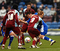 Photo: Paul Greenwood.<br /> Burnley FC v Cardiff City. Coca Cola Championship. 09/04/2007.