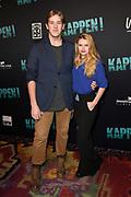 Premiere van Kappen, de 8e boekverfilming van de populaire schrijfster Carry Slee<br /> <br /> op de foto:   Britt Scholte met haar vriend