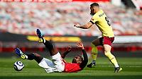 Football - 2020 / 2021 Premier League - Manchester United vs Burnley - Old Trafford<br /> <br /> Paul Pogba of Manchester United and Josh Brownhill of Burnley at Old Trafford<br /> <br /> Credit COLORSPORT/LYNNE CAMERON