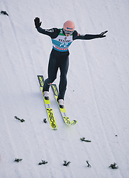31.12.2019, Olympiaschanze, Garmisch Partenkirchen, GER, FIS Weltcup Skisprung, Vierschanzentournee, Garmisch Partenkirchen, Qualifikation, im Bild Karl Geiger (GER) // Karl Geiger of Germany during his qualification Jump for the Four Hills Tournament of FIS Ski Jumping World Cup at the Olympiaschanze in Garmisch Partenkirchen, Germany on 2019/12/31. EXPA Pictures © 2019, PhotoCredit: EXPA/ JFK
