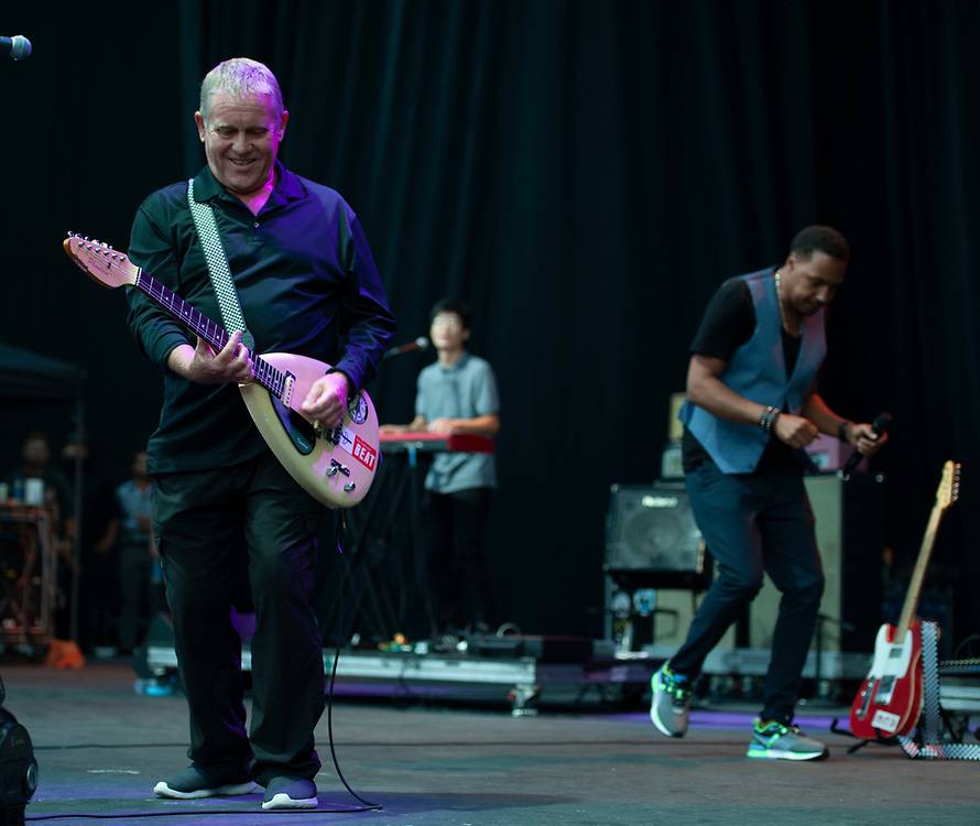 English Beat performing at Pacific Amphitheatre August 14, 2021. (Photo by Miguel Vasconcellos, OC Fair & Event Center)