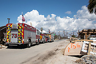 First Responder in Mexico Beach Florida following Hurricane Michael.