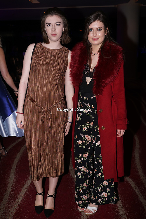 Westminster, UK. 20th Apr, 2017. Eleanor O'Donovan,Bridie Barton attends The annually National UK Blog Awards at Park Plaza Westminster Bridge, London. by See Li