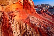 Swirl in the sandstone at White Pocket, AZ