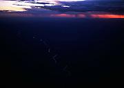Arizona project water aqueduct, near Phoenix, Arizona desert. USA