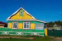 Russie, Siberie, isba dans la region du Baikal // Russia, Siberia, isba near baikal lake