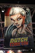 Dutch Comic Con 2016 is een event geheel gericht op pop-culture in de breedste zin des woords. Dit bevat een weekendvullend programma met onder andere: Cosplay, panels en workshops, comics en artists, auteurs, acteurs en actrices, gaming en meer dan 100 stands met de leukste pop-culture merchandise.<br /> <br /> Op de foto:  Dutch Comic Con