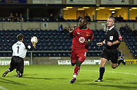 Picture: Henry Browne. Digitalsport<br /> Date: 24/08/2004.<br /> Wycombe Wanderers v Bristol City Carling Cup First Round.<br /> <br /> Leroy Lita celebrates after scoring the winning goal.