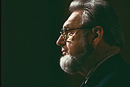 Dr. Evertt Koop, Surgeon General in 1987<br />Photo by Dennis Brack