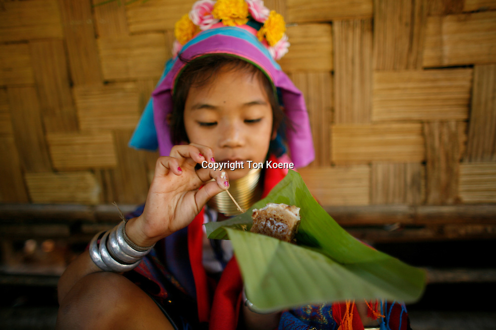 traditional thia food (in banana leave)