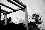 Gus Kenworthy Ski Round1 Combined at Air & Style LA at the Rose Bowl in Pasadena, CA. ©Brett Wilhelm/ESPN