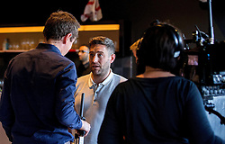 Bristol City Manager Lee Johnson is interviewed by local TV - Mandatory by-line: Robbie Stephenson/JMP - 20/06/2016 - FOOTBALL - Ashton Gate - Bristol, United Kingdom  - England vs Slovakia - UEFA Euro 2016