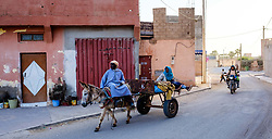 Street scene in, Oulad Barrehil, Taroudant Province, Souss-Massa region, Morocco<br /> <br /> (c) Andrew Wilson | Edinburgh Elite media