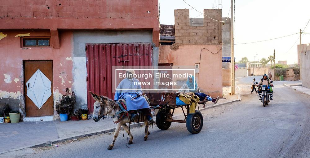 Street scene in, Oulad Barrehil, Taroudant Province, Souss-Massa region, Morocco<br /> <br /> (c) Andrew Wilson   Edinburgh Elite media
