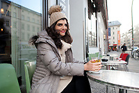 04 JAN 2012, BERLIN/GERMANY:<br /> Shermin Voshmgir, Filmemacherin und Gruenderin des Start-ups cinovu.com, Cafe Oberholz, Rosenthaler Platz<br /> IMAGE: 20120104-01-003