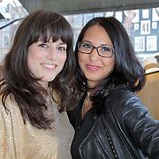 NLD/Amsterdam/20120326 - Presentatie Jeanslijn SOS van Sylvia Geersen bij Raak Amsterdam,Sabine van Zeijl en .....