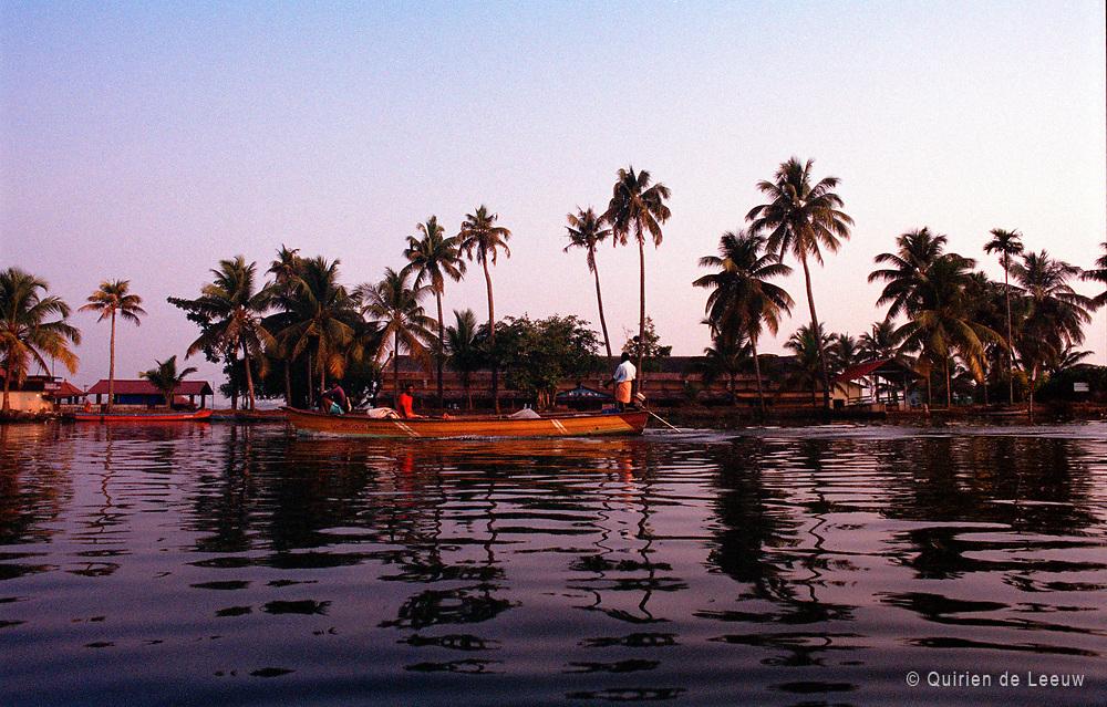Backwaters of Kerala province, India