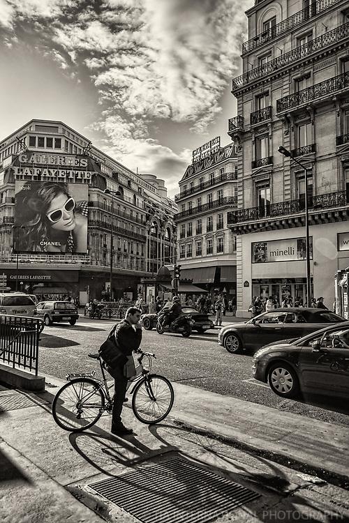 Boulevard Haussmann, Galeries Lafayette