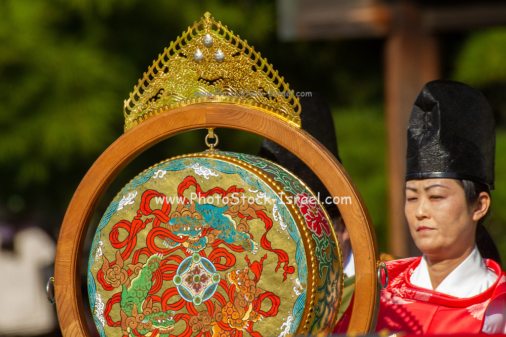 Jidai Matsuri (Festival of the Ages) is a traditional Japanese festival (also called matsuri) held annually on October 22 in Kyoto, Japan. It is an historical reenactment parade dressed in authentic costumes representing various periods, and characters in Japanese feudal history.