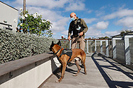 Dog team security in action on every places during the Roland Garros 2020, Grand Slam tennis tournament, on October 5, 2020 at Roland Garros stadium in Paris, France - Photo Stephane Allaman / ProSportsImages / DPPI