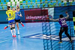 Matea Pletikosic of RK Krim (SLO) during handball match between RK Krim Mercator (SLO) vs Metz Handball  (FRA) in DELO EHF Women's Champions League 2020/21, on January 16, 2021 in SRC Stozice, Ljubljana, Slovenia. Photo by Grega Valancic / Sportida