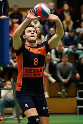 20170125 NED: Beker, Sliedrecht Sport - Seesing Personeel Orion: Sliedrecht<br />Freek de Weijer (8) of Seesing Personeel - Orion<br />©2017-FotoHoogendoorn.nl / Pim Waslander