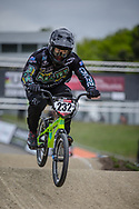 #232 (KRASEVSKIS Matt) AUS during practice at Round 3 of the 2019 UCI BMX Supercross World Cup in Papendal, The Netherlands