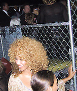 "Beyonce Knowles & Mike Myers on the background.EXCLUSIVE.""Austin Powers"" Post Premiere Party.Universal Studios.Hollywood, CA.July 22, 2002.Photo By Celebrityvibe.com.."