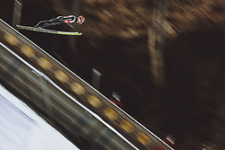 26.02.2021, Oberstdorf, GER, FIS Weltmeisterschaften Ski Nordisch, Oberstdorf 2021, Herren, Skisprung, HS106, Qualifikation, im Bild Pius Paschke (GER) // Pius Paschke of Germany during qualification of men ski Jumping HS106 Competition of FIS Nordic Ski World Championships 2021. in Oberstdorf, Germany on 2021/02/26. EXPA Pictures © 2021, PhotoCredit: EXPA/ Dominik Angerer