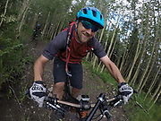 SHOT 8/5/17 12:57:55 PM - GoPro Hero 5 photos while riding Brian Head Resort in Brian Head, Utah with Vesta Lingvyte of Denver, Co. (Photo by Marc Piscotty / © 2017)
