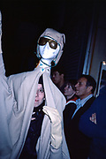 Two Heads, Halloween, New York City, New York, October 1982